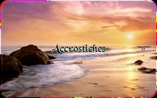 ACCROSTICHES