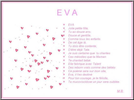 Eva Pour Tes 12 Ans